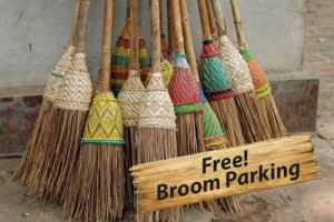 Free broom parking and wine at Cajutan in Bangkok