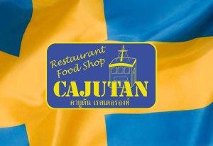 Cajutan med svensk mat i Bangkok