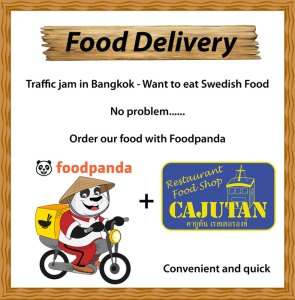 Order Swedish food from Cajutan with Foodpanda in Bangkok