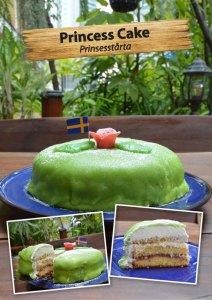 Princesstårta finns nu att köpa i Cajutan food shop i Bangkok