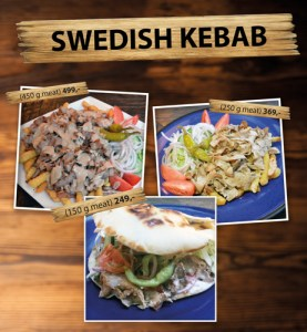 Swedish Kebab at Cajutan in Bangkok