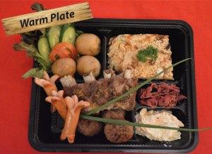 Real Swedish Christmas plate from Cajutan in Bangkok