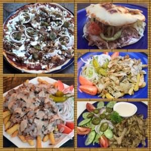Svensk kebab serveras på Cajutan i Bangkok