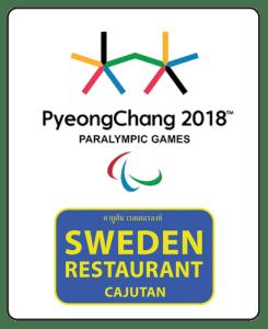 Winter Olympics Paralympics at Cajutan in Bangkok
