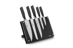 bloc design 5 couteaux de cuisine sabatier international denver ixion
