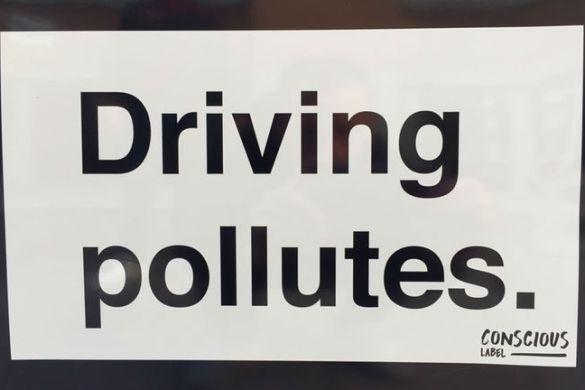 Driving Pollutes - frivillig konsumentupplysning