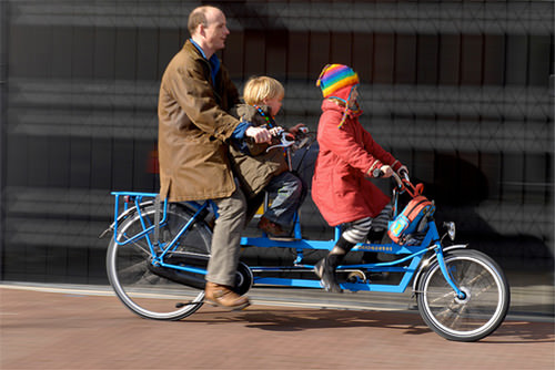A Bicycle Built For School