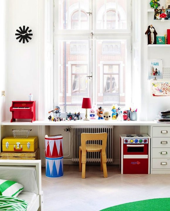 Back-To-School Workspace for Kids