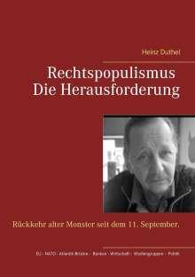 Heinz Duthel: Rechtspopulismus - Die Herausforderung, Buch
