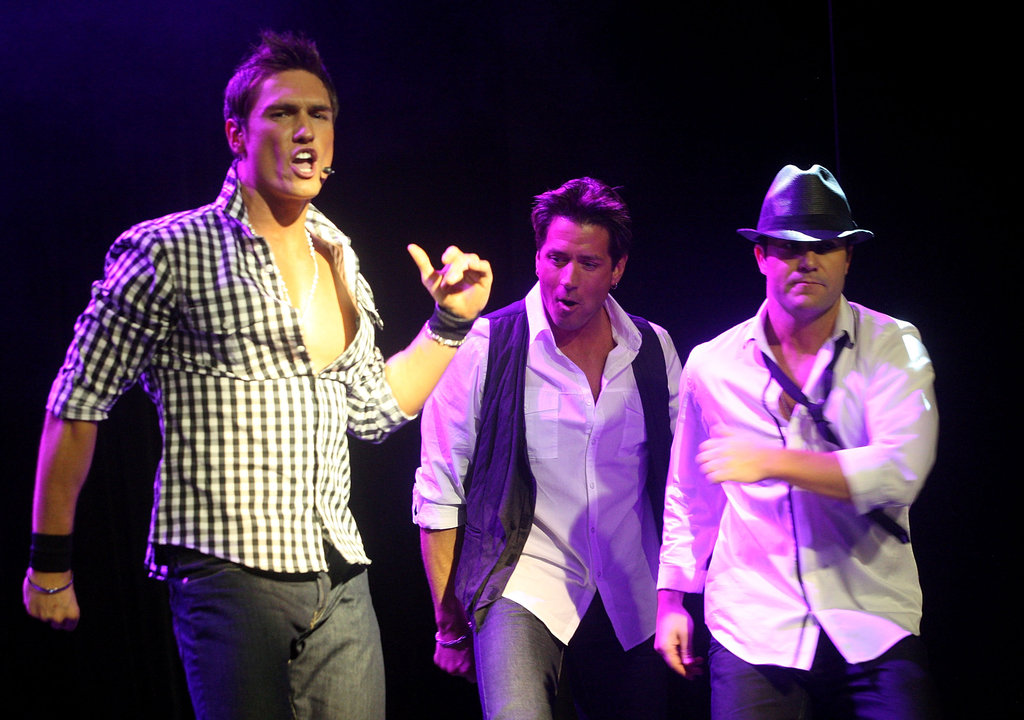 UK boy band Here Come the Boys!, which includes former Chippendales | Chippendales and the