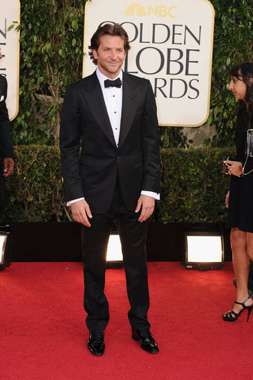 Bradley Cooper At The Golden Globes 2013 Pictures