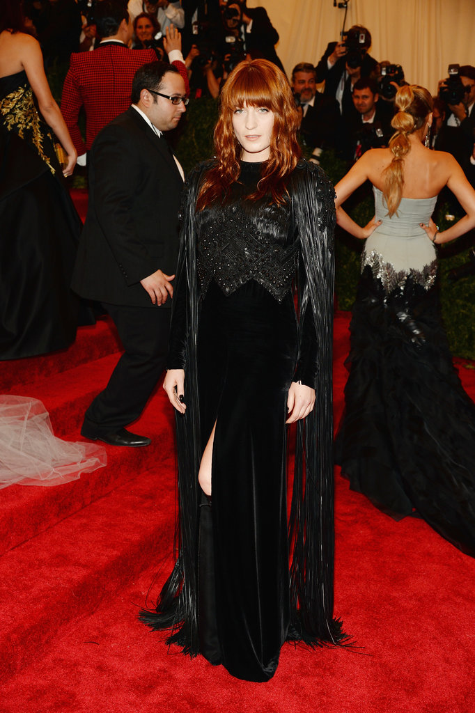 Florence Welch in Givenchy at the 2013 Met Gala