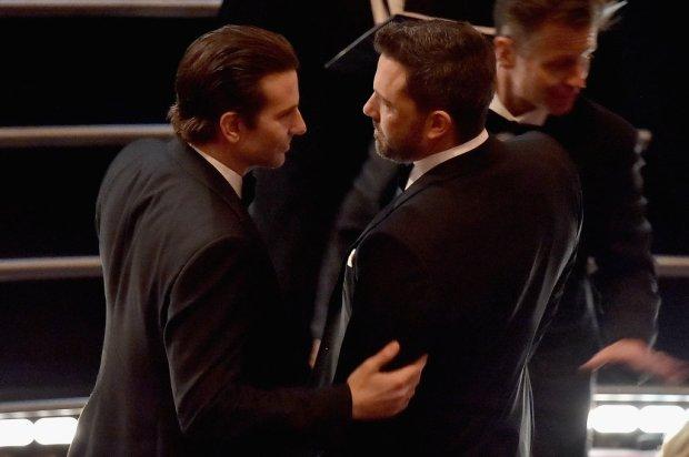 Bradley Cooper Got a Word With Ben Affleck