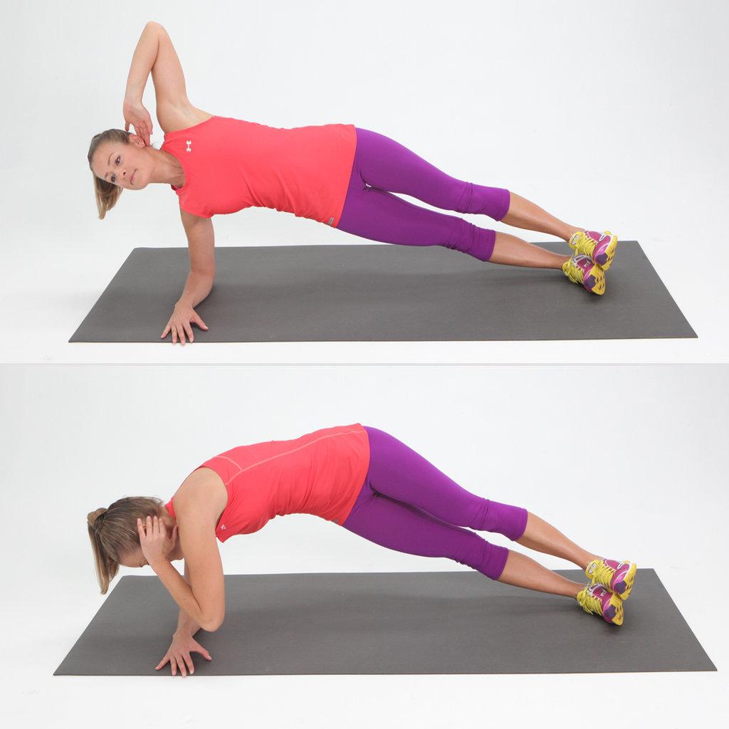 Twisting Side Plank