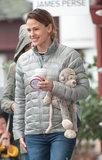 Jennifer Garner non sta lasciando un podi pioggia rovina il suo giorno