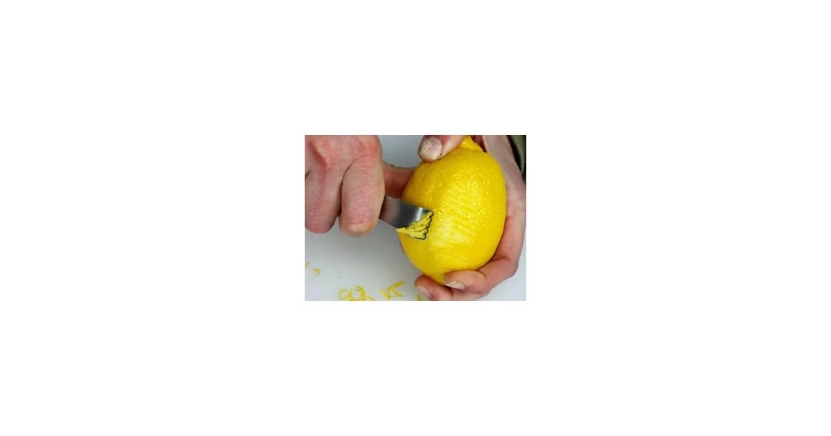 Lemon Zest Definition