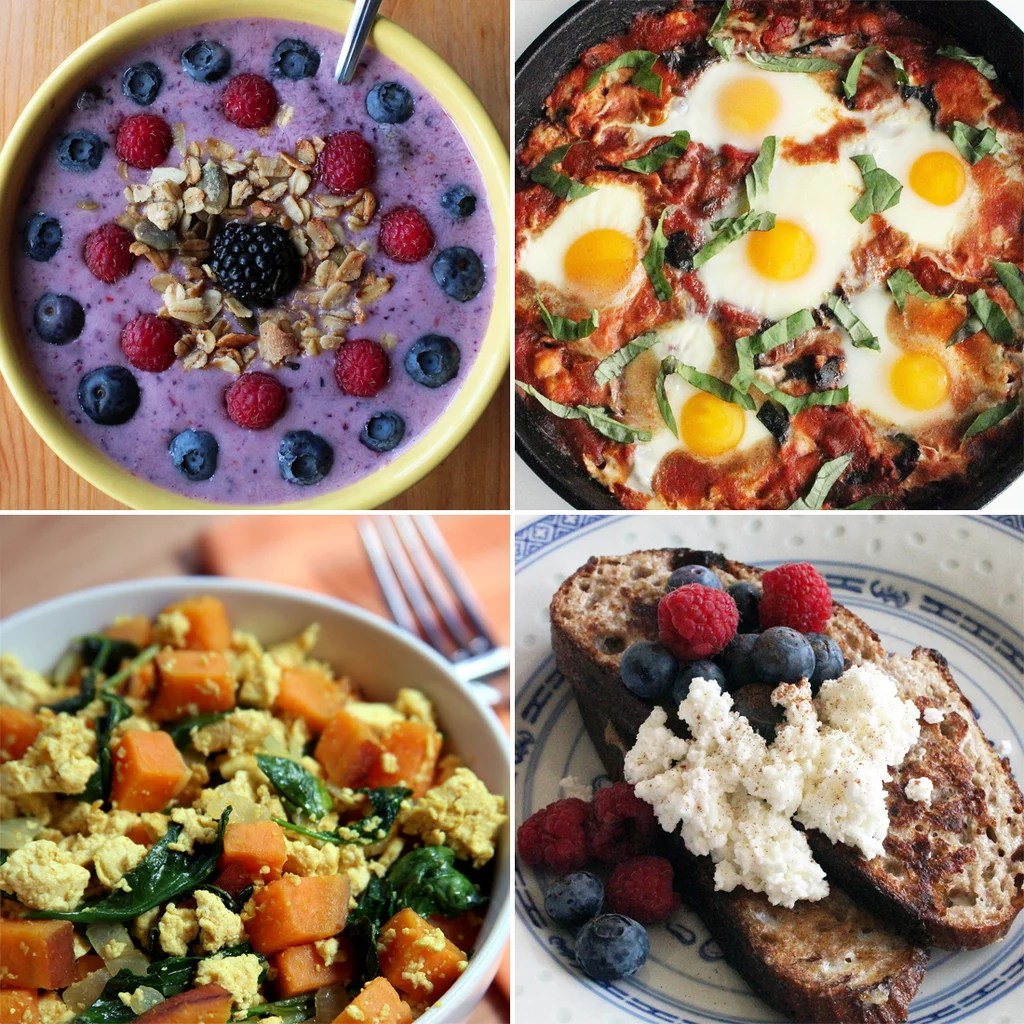 Healthy Breakfast Recipe Ideas Popsugar Fitness