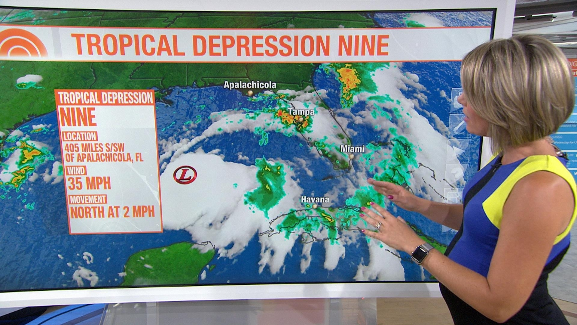 Gulf system expected to become Tropical Storm Hermine   NBC News