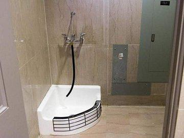 sometimes a mop sink is just a mop sink