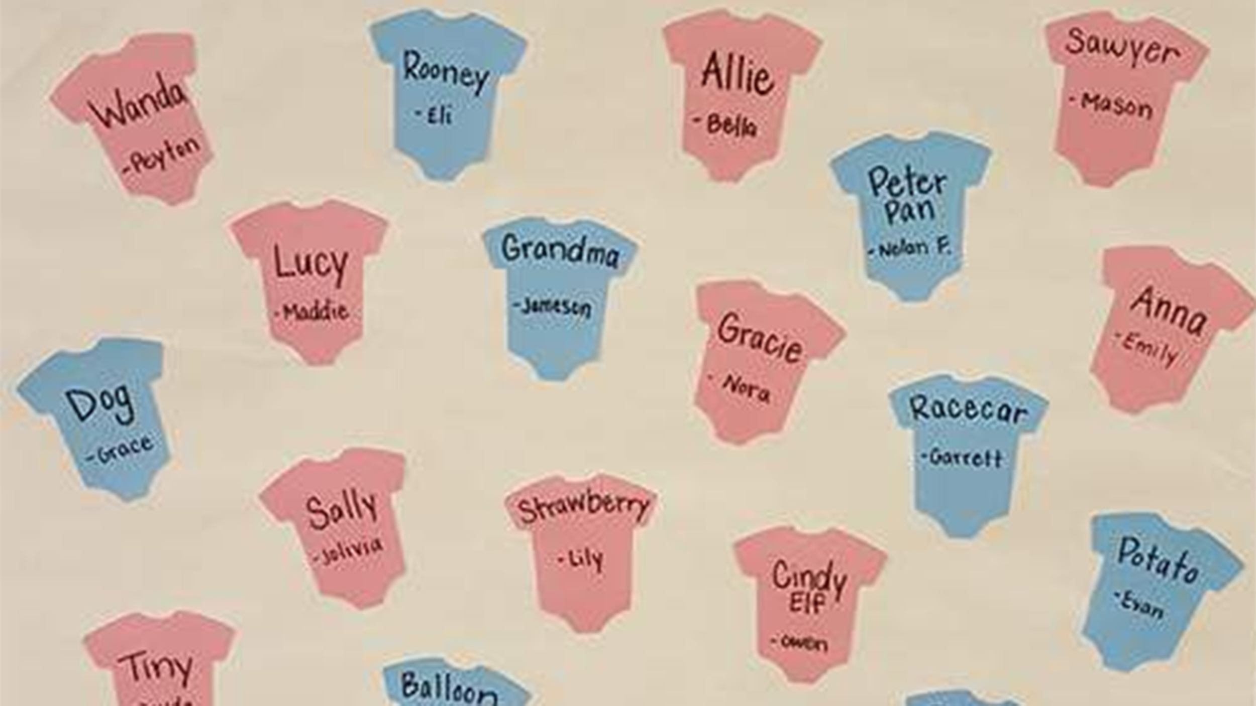 Preschoolers Pick Their Favorite Baby Names Like Peter