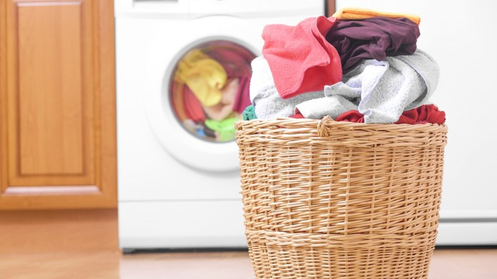 conventional cleaning of clothes
