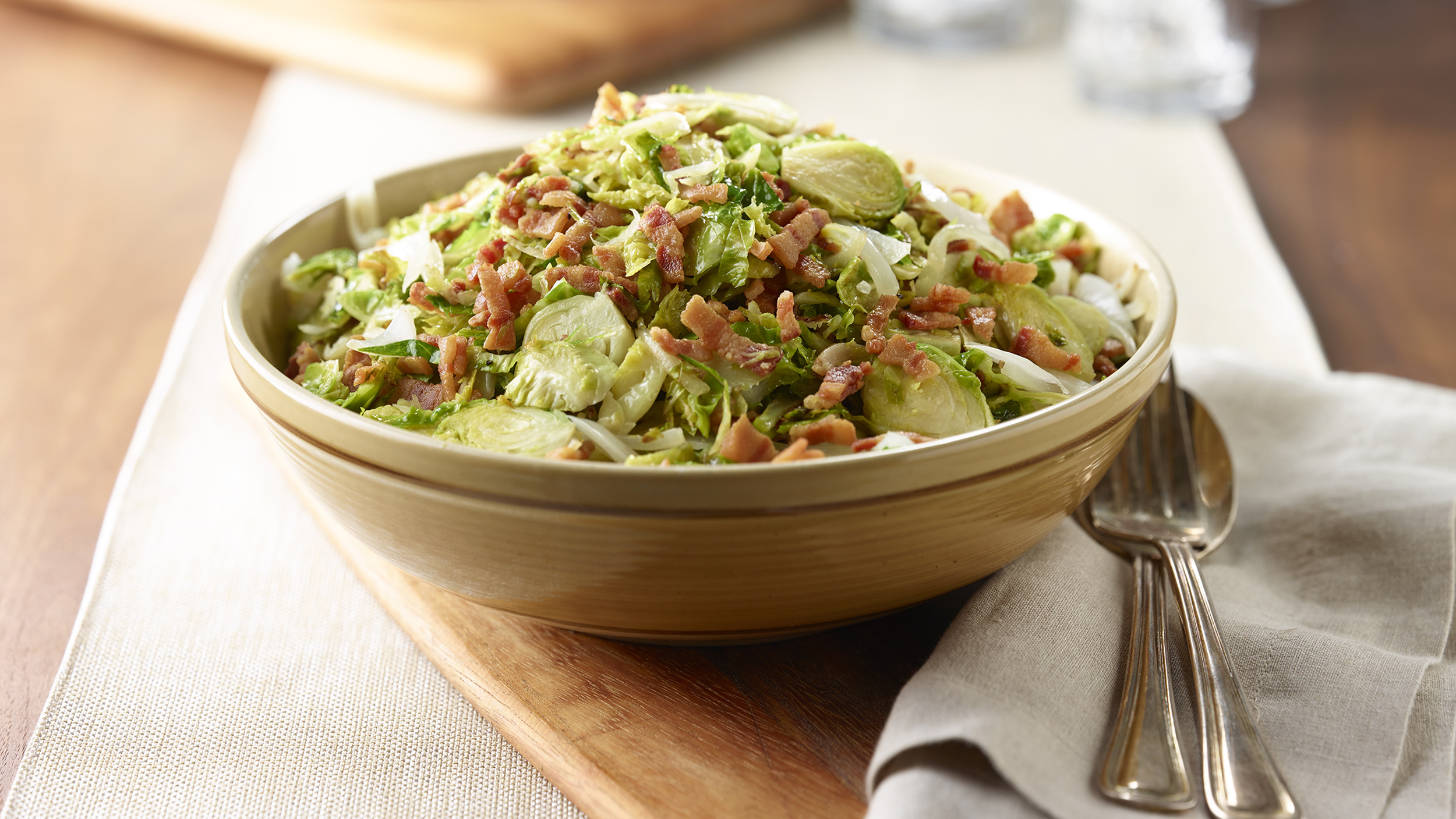 Sprouts Brussel Onion Bacon