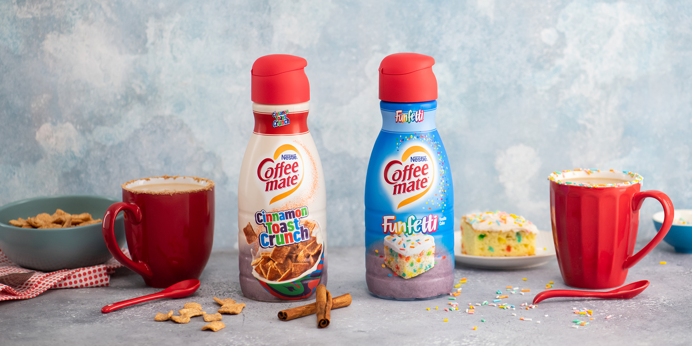 Coffee Mate Is Offering Cinnamon Toast Crunch Funfetti Creamers