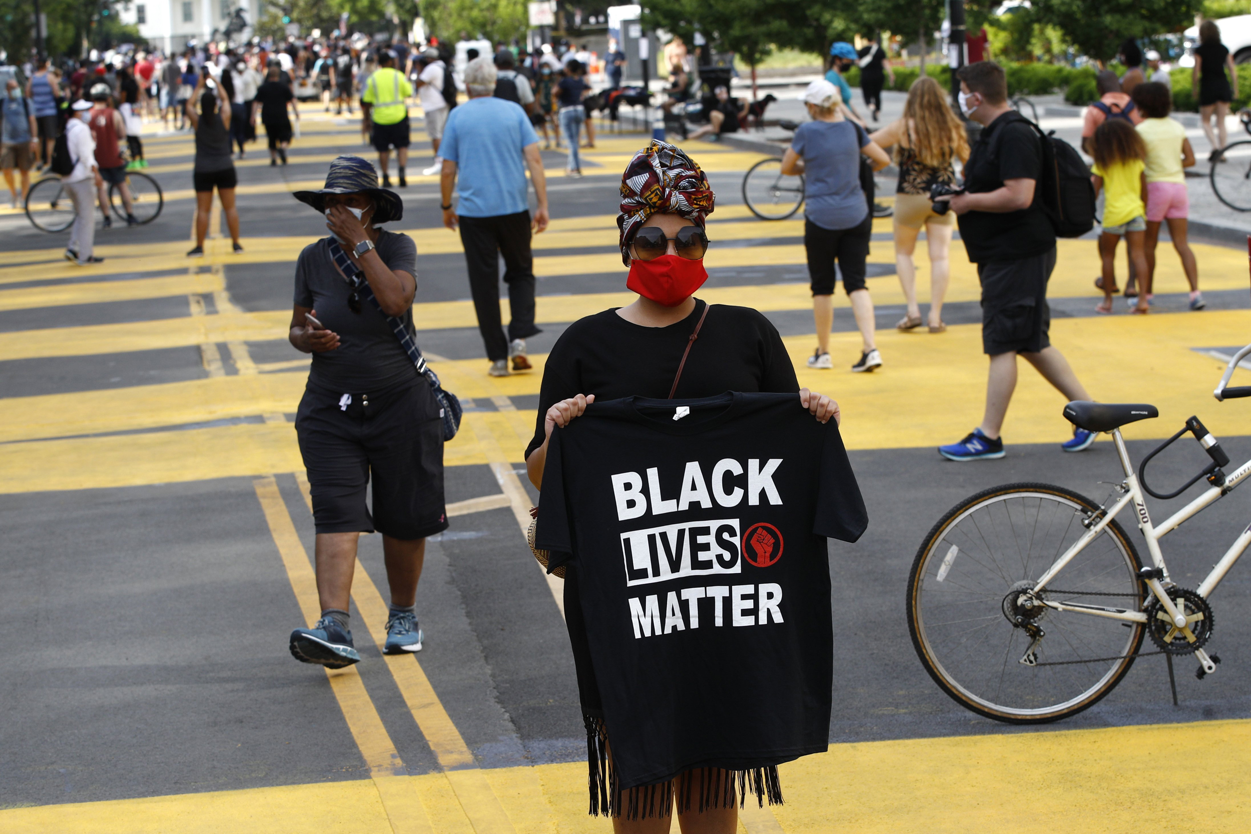 Black Lives Matter Protest Draws All Walks Of Life