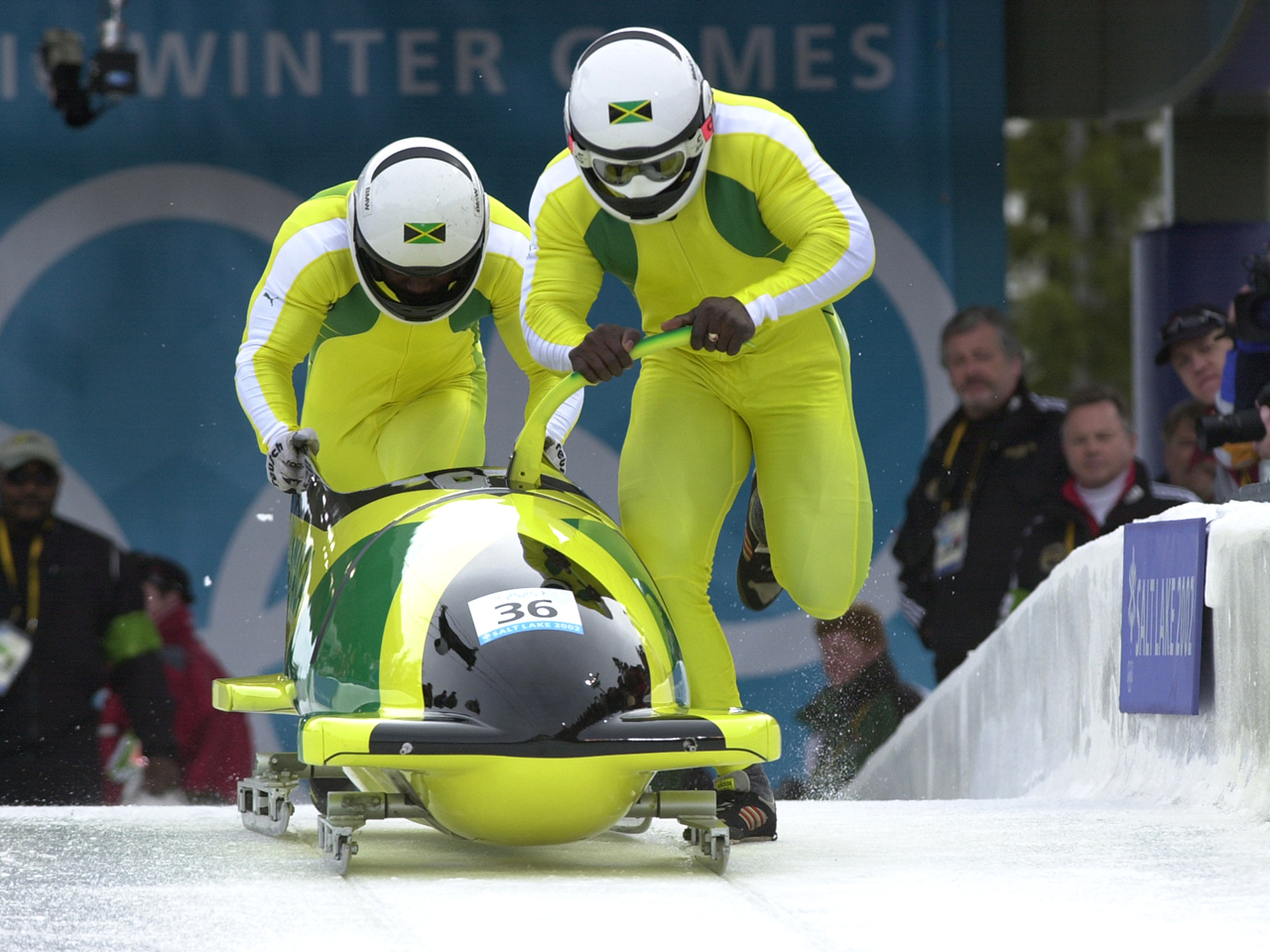 Cool Runnings 2 Jamaican Bobsled Team Aims For Sochi