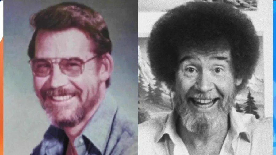 Image result for bob ross, air force