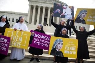 Image: Supreme Court Hears Oral Arguments in Zubik v. Burwell