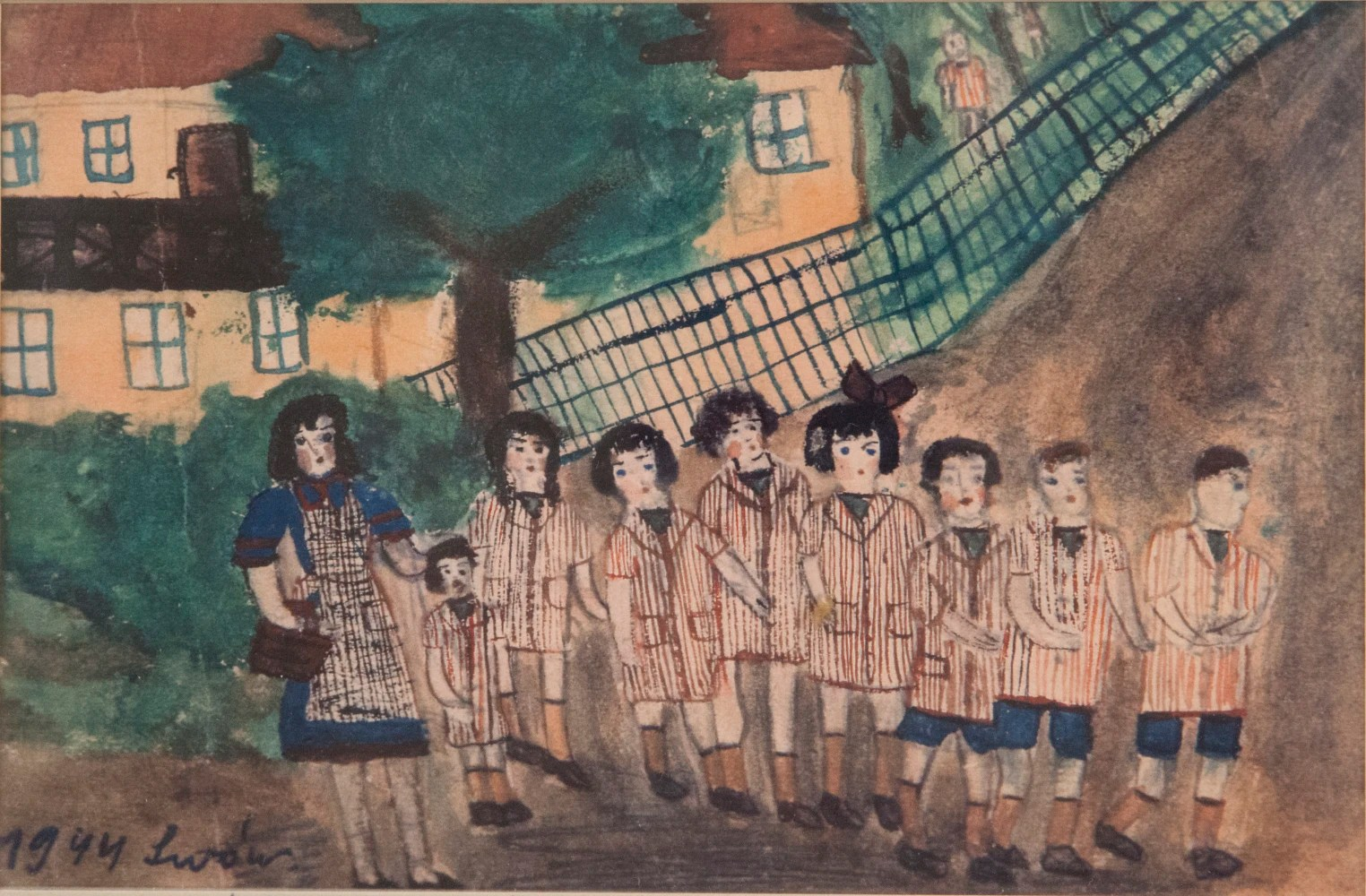 Holocaust Survivors Art On Display For First Time In
