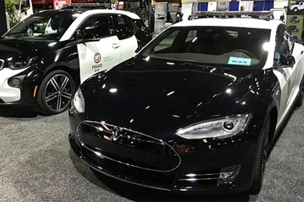 Cop Los Cars New Angeles