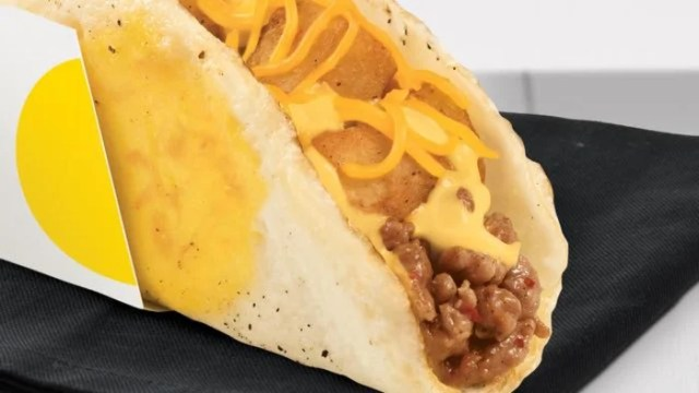 Naked Egg Taco from Taco Bell