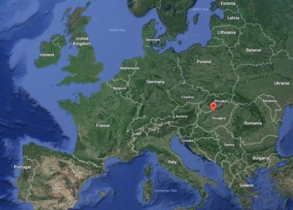 Image: Map of Budapest
