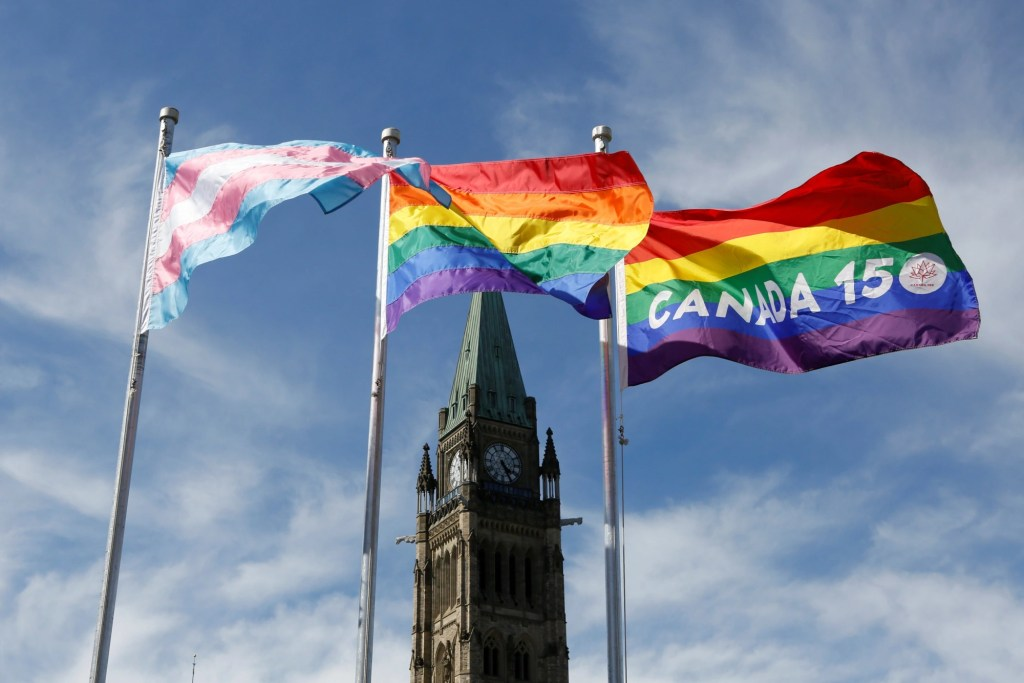 Canada fines someone for calling them their non preferred gender pronoun.