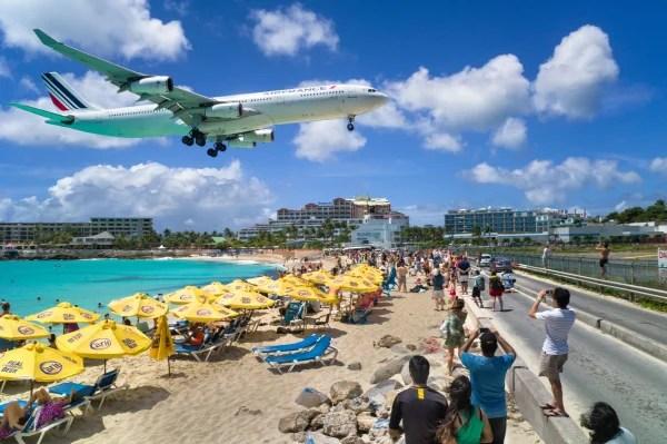 IMAGE: Sunset Beach, St. Maarten
