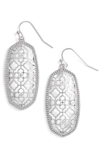 Elle Filigree Drop Earrings Kendra Scott Nordstrom sale