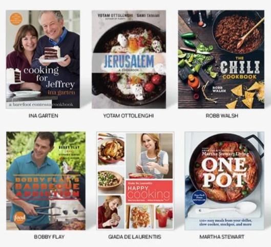 Jill's Steals and Deals Today Penguin Random House Cookbook Sets