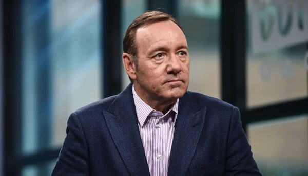 """Image: Kevin Spacey attends the Build Series to discuss his new play """"Clarence Darrow"""""""