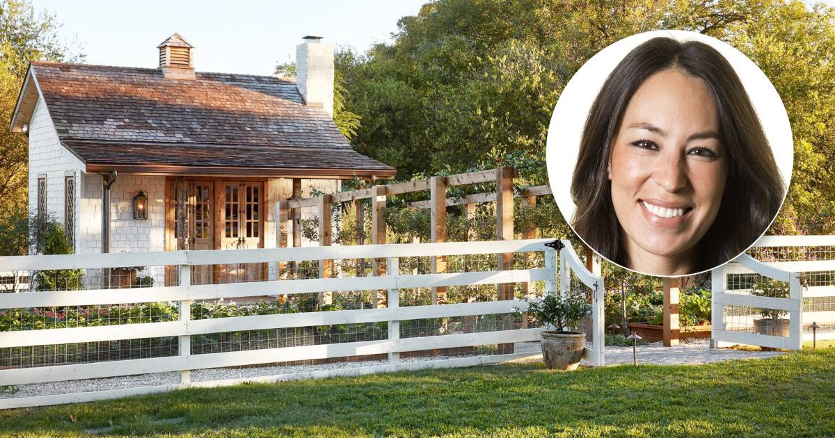 Joanna Gaines' Garden House Is So Beautiful