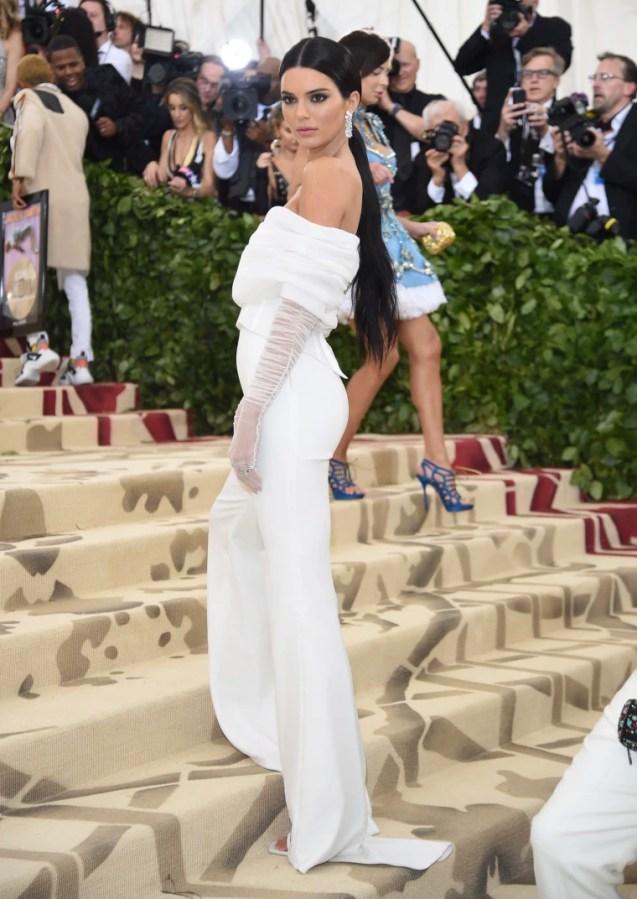 Image: Kendall Jenner Met Gala 2018