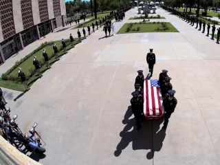 Political News  Analyses  Opinions  and Stories   NBC News Photo gallery  McCain family bids emotional farewell to statesman in  Phoenix memorial
