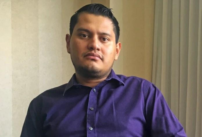 Image: Salvadoran lawyer Jimmy Ortiz