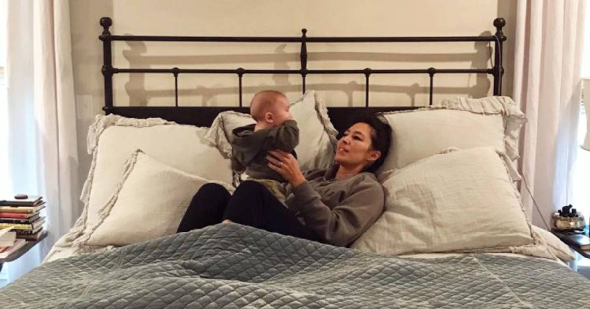 Joanna Gaines Shares Her Blissful Day With Baby Crew