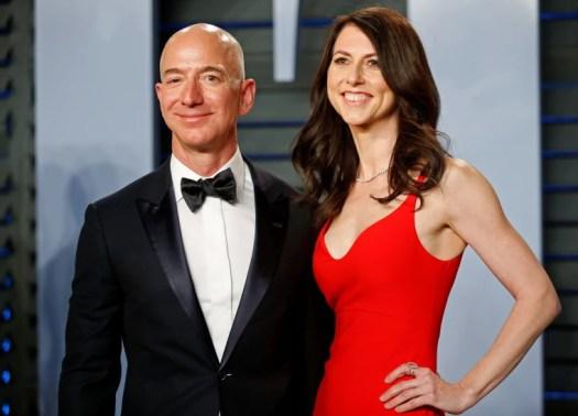 Jeff Bezos' ex-wife MacKenzie says she will donate half ...