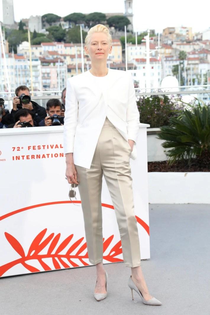 "Tilda Swinton Cannes Film Festival, ""The Dead Don't Die"" Cannes Film Festival"
