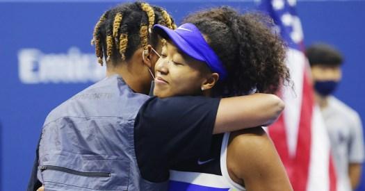 Naomi Osaka's boyfriend reacts to her U.S. Open win