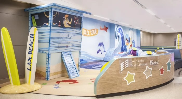 Los Angeles Airport Gets Beach Themed Kids Play Area