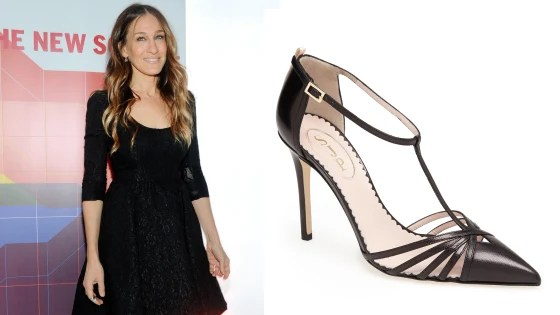 """The """"Carrie"""" pump from Sarah Jessica Parker's collection for Nordstrom."""